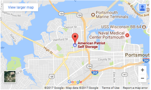 Click for directions to American Patriot Self Storage